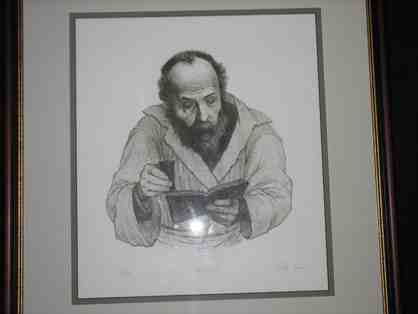 Tully Filmus Lithograph