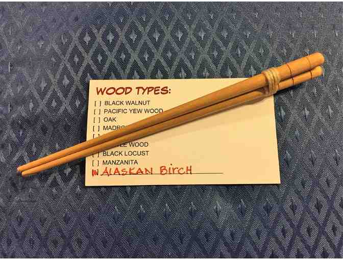 Alaskan Birch Hair Sticks - Photo 1