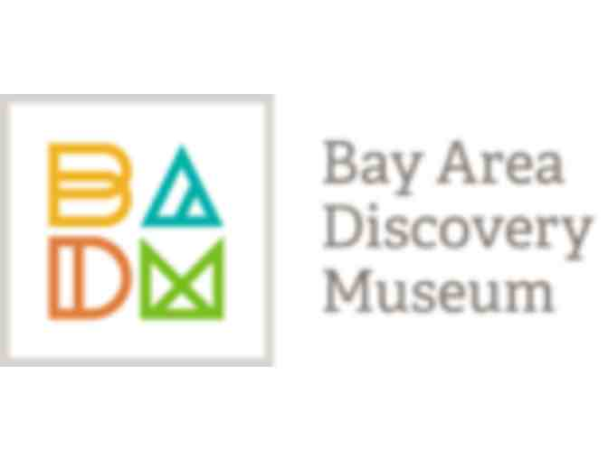 I - Gift Certificate to the Bay Area Discovery Museum