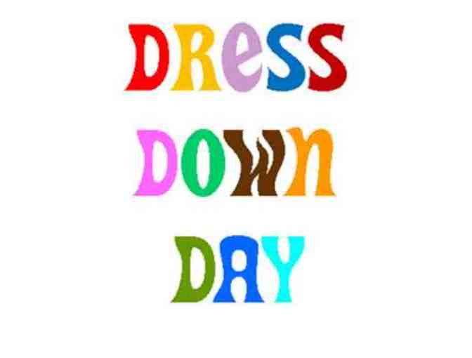 Dress Down Day Pass
