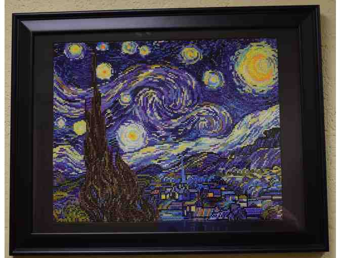 Starry Starry Night Beaded Art