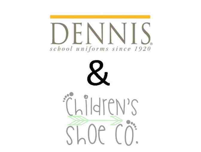 Girls Dennis Uniform & $35 Children's Shoe Co. Gift Certificate