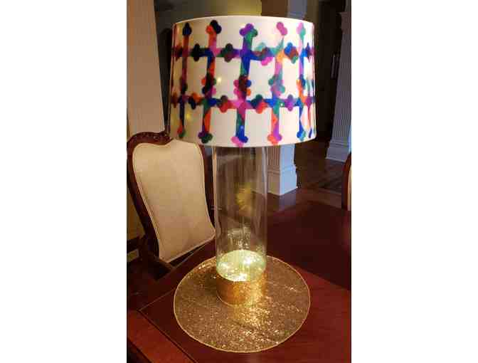 Kindergarten Lamp Shade ~ Crosses