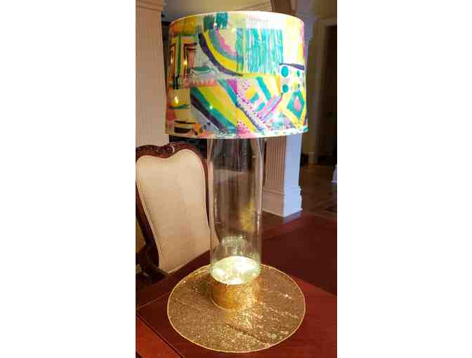 3rd Grade Lamp Shade ~ Decoupage