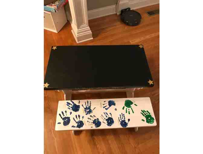 Chalkboard Table & Benches ~ Stargazers (PreK) Class Project