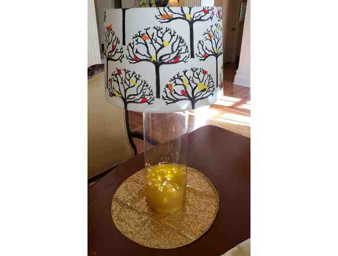 2 yr old classes Lamp Shade ~ Birds