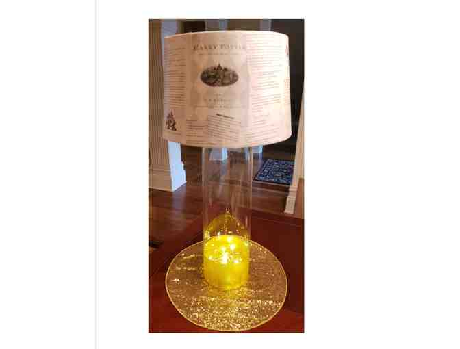 4th Grade Lamp Shade ~ Harry Potter
