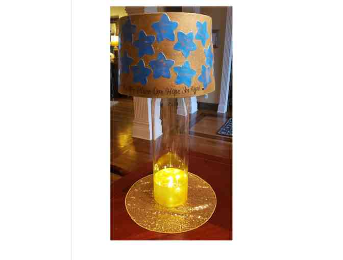 6th grade lamp shade ~ stars
