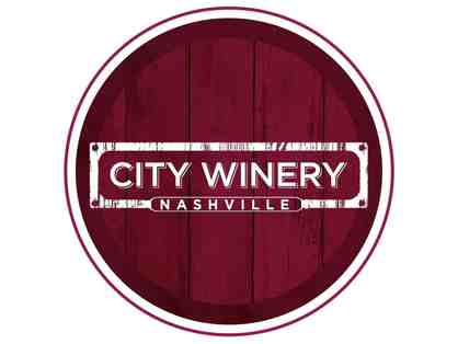 City Winery Tour & Tasting for Two