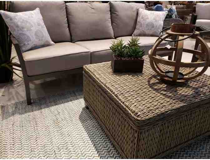 ENJOY YOUR BACKYARD, DECK, OR PATIO!  2 Sunbrella Couches and Coffee Table