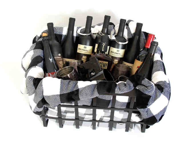 'Bad Criminal in Woonsocket' Liquor Gift Basket