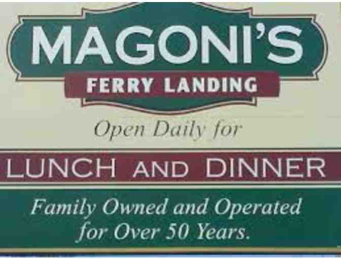 Magonis Ferry Landing -- $100 Gift Card