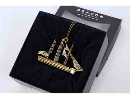 Tall Ship 3-D Ornament by Beacon Design