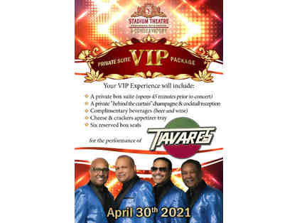 Tavares Private Suite VIP Package for SIX