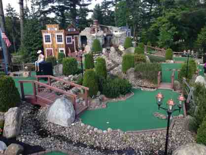 Boots and Birdies Miniature Golf-    4 Minature Golf Games