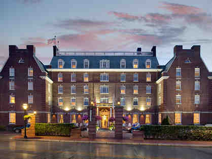 1 night stay at the Hotel Viking, Newport and passes to the Newport Mansions