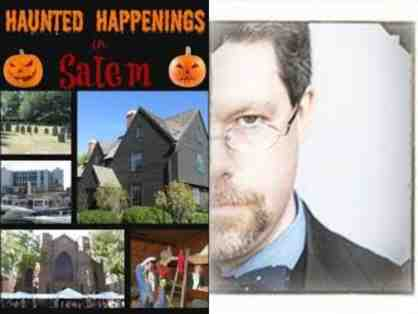 Spooky Salem Tour for 12 with Rory Raven, Author & Historian