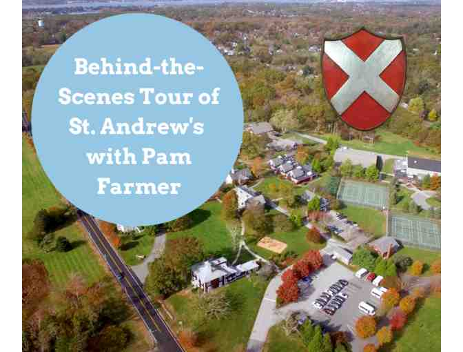Behind-the-Scenes Tour of St. Andrew's with Pam Farmer - Photo 1
