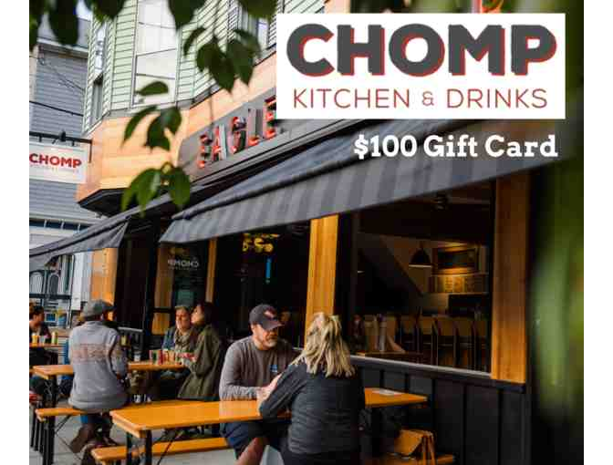 $100 Gift Card to Chomp Kitchen & Drinks (Warren & Providence) - Photo 1
