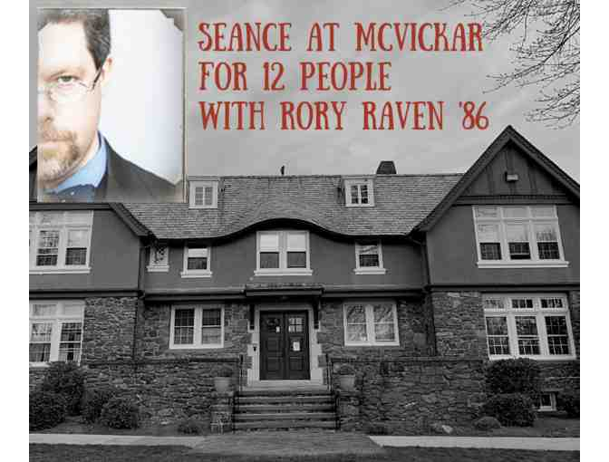 Seance at McVickar for 12 with Rory Raven '86 - Photo 1