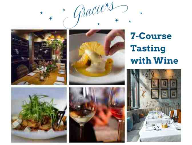 7-Course Tasting with Wine at Gracie's in Providence - Photo 1