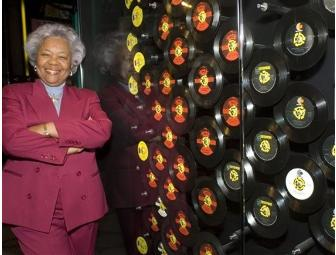 Tour of Stax Museum and its archives with Deanie Parker