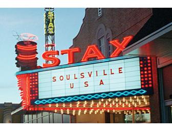 1-week rental of Stax Museum Marquee including personalized message