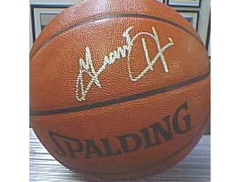 Basketball signed by Grant Hill of the  Phoenix Suns