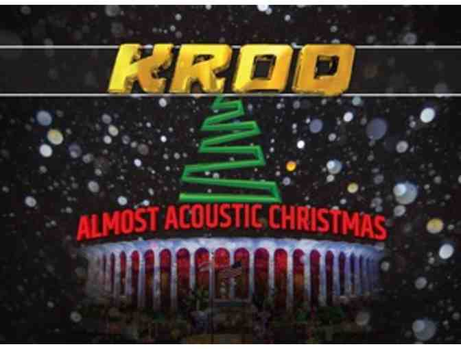 KROQ ALMOST ACOUSTIC CHRISTMAS 2019!! Night One