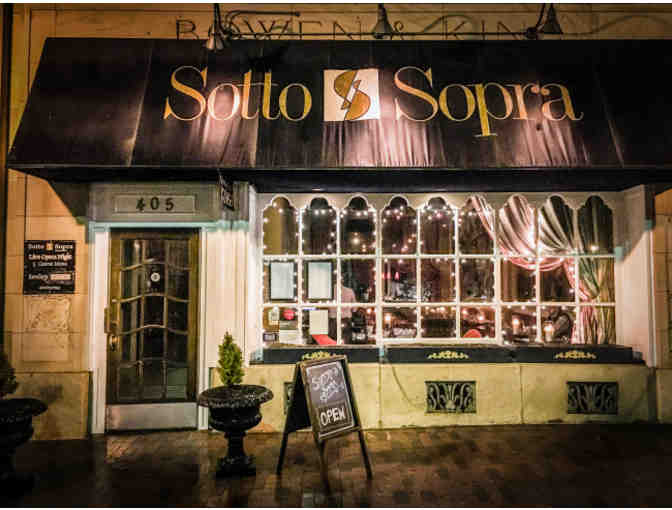 Sotto Sopra - $75 Gift Certificate - Photo 1