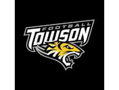 Towson University Football Tickets - Set of Four (4) and T-Shirts
