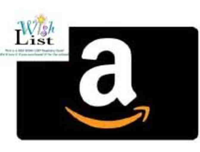 WISH LIST REGISTRY: Amazon Gift Card for Speech Department - Photo 1