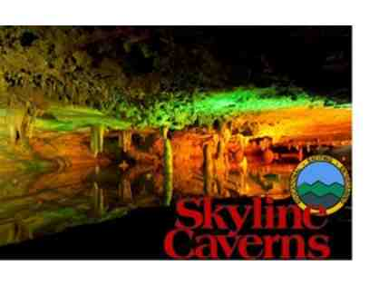 Skyline Caverns Guest Card for Two