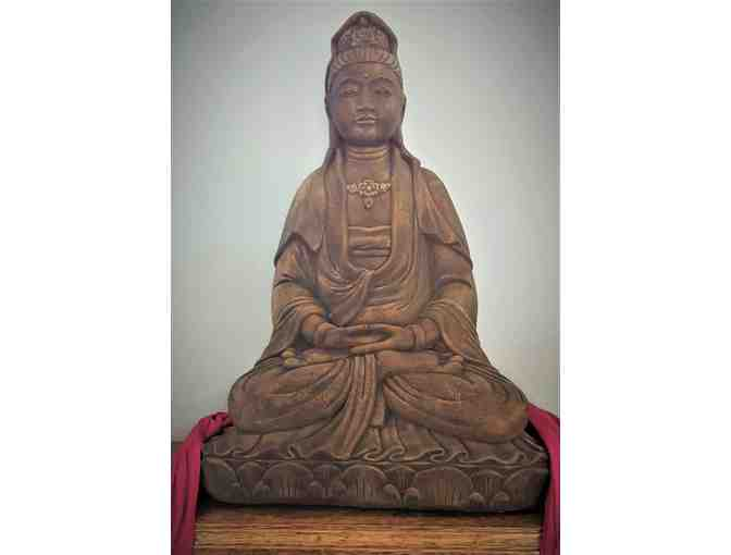 "20"" tall Garden Statue of Kwan Yin - Choose your own finish - Photo 1"