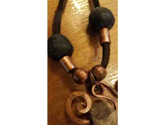 Oneota Primitives Stone & Copper Necklace
