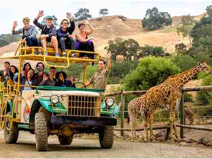 Gift Certificate to Safari West - African Safari Adventure for Two (Overnight stay & more)