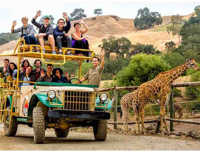 Gift Certificate to Safari West - African Safari Adventure for Two (Overnight stay & more) - Photo 1