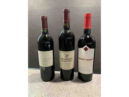 3 bottles - Zinfandel Wine Lovers Lot #2