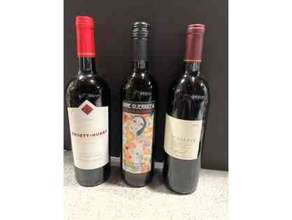 3 bottles - Zinfandel Wine Lovers Lot #4