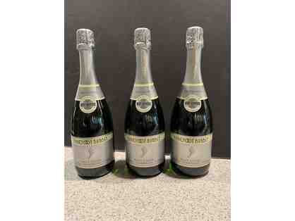 3 Bottles of Barefoot Bubbly Brut Cuvee