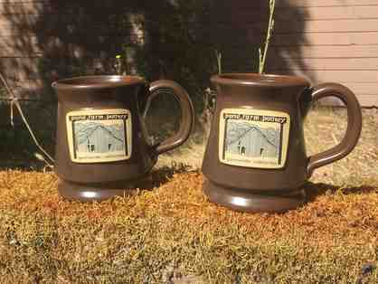 A Pair of Pond Farm Mugs by Deneen Pottery