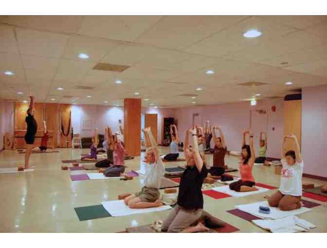 One Session of Yoga Classes at Unity Woods Yoga Centers
