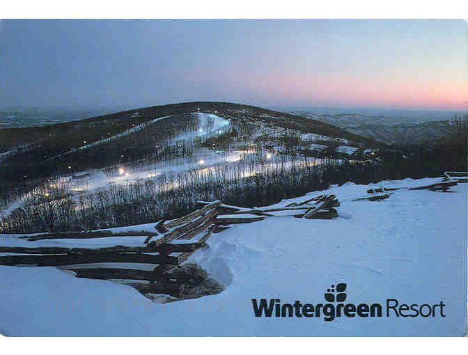 4 Coupons for one activity per person at Wintergreen Resort