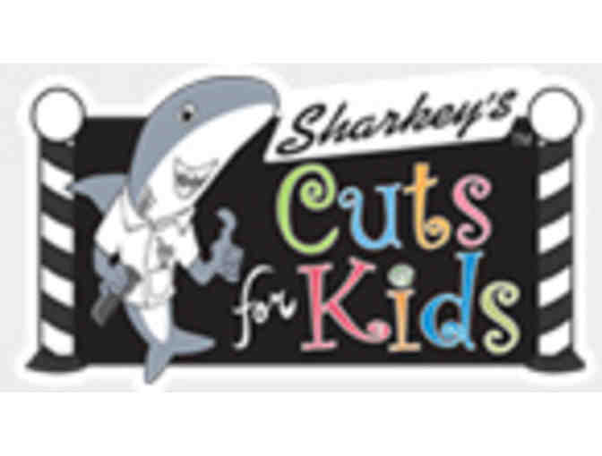 Three Haircuts @ Sharkey's Cuts for Kids - Seattle