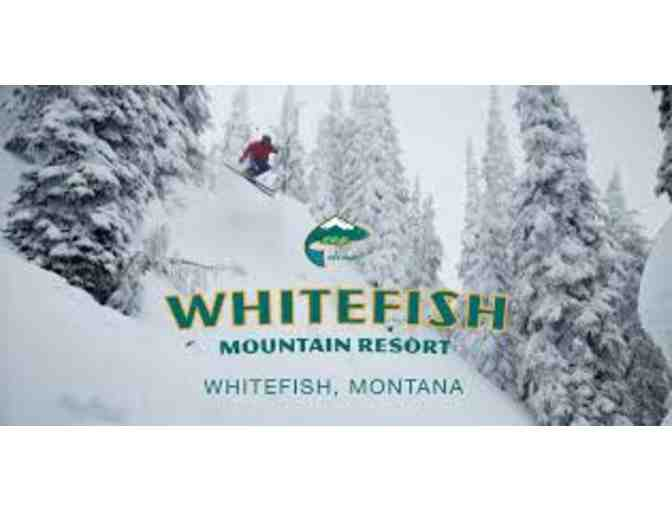 Two Winter Lift Tickets at Whitefish Mountain Resort