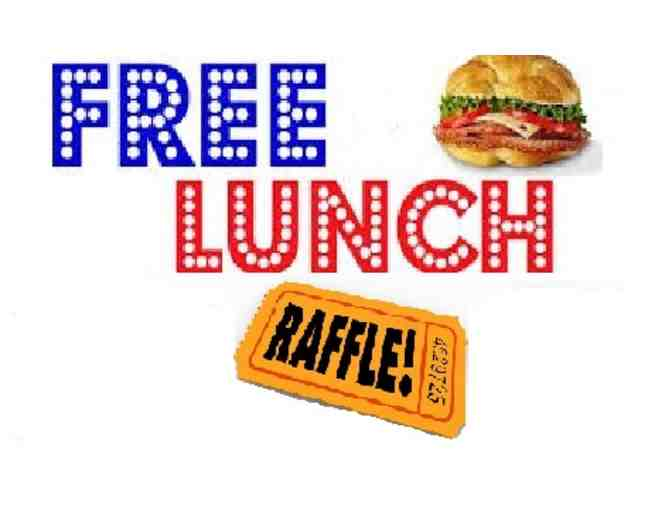 SINGLE Raffle Ticket - FREE lunch for a year! - Photo 1