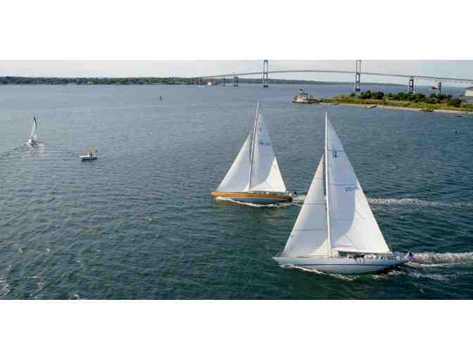 2 tickets for a 3 hour America's Cup 12 Meter Racing Experience in Newport, RI. - Photo 1