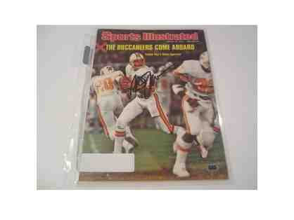 1976 Steve Spurrier Tampa Bay Buccaneers Autographed Sports Illustrated