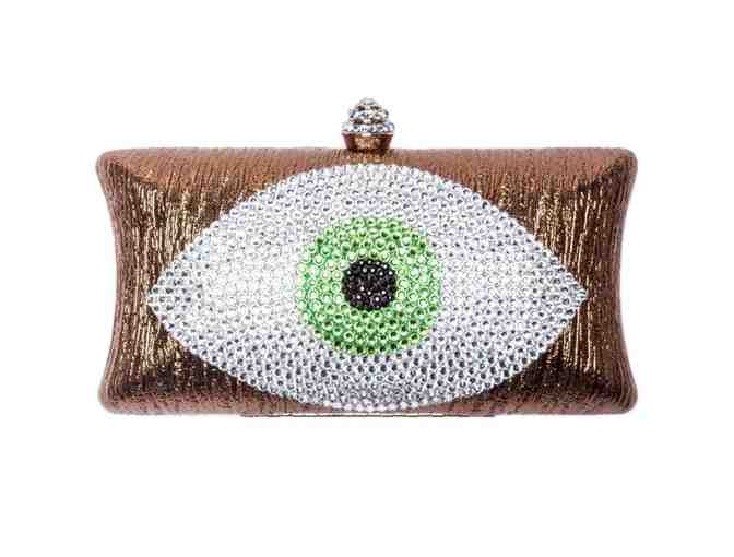 Evil Eye Clutch Bronze And Light Green - Photo 1