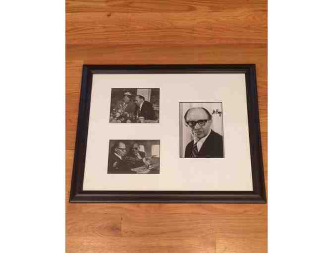 Menachem Begin Autographed Piece - Photo 1